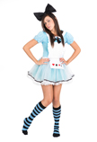 Alice in Wonderland Knee Socks