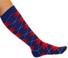 Red/White/Blue Argyle