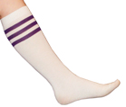 Purple Tube Socks