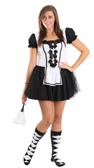 maid halloween costume socks