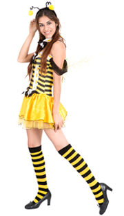 bumblebee socks yellow