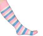 Cotton Candy Striped Socks