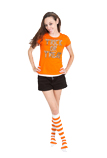 Candy Corn Knee Socks