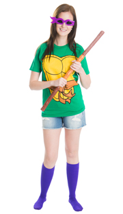 purple turtle halloween costume