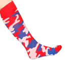 Army Camouflage Red White Blue