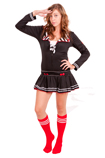 Sexy Sailor with Red Tube socks