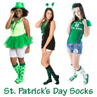 St. Patrick's Day Knee Highs