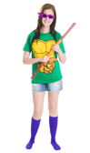 turtle costume purple